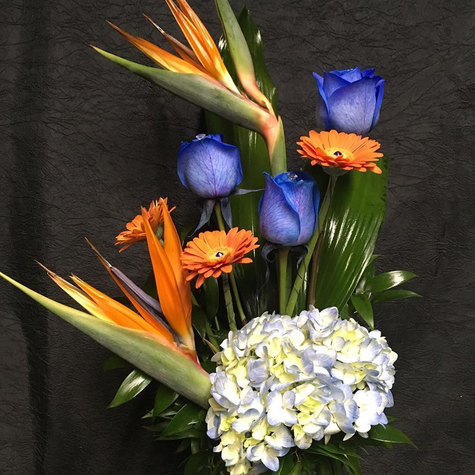 spruce grove flowers and gifts tropical arrangements