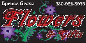 spruce grove flowers mobile logo
